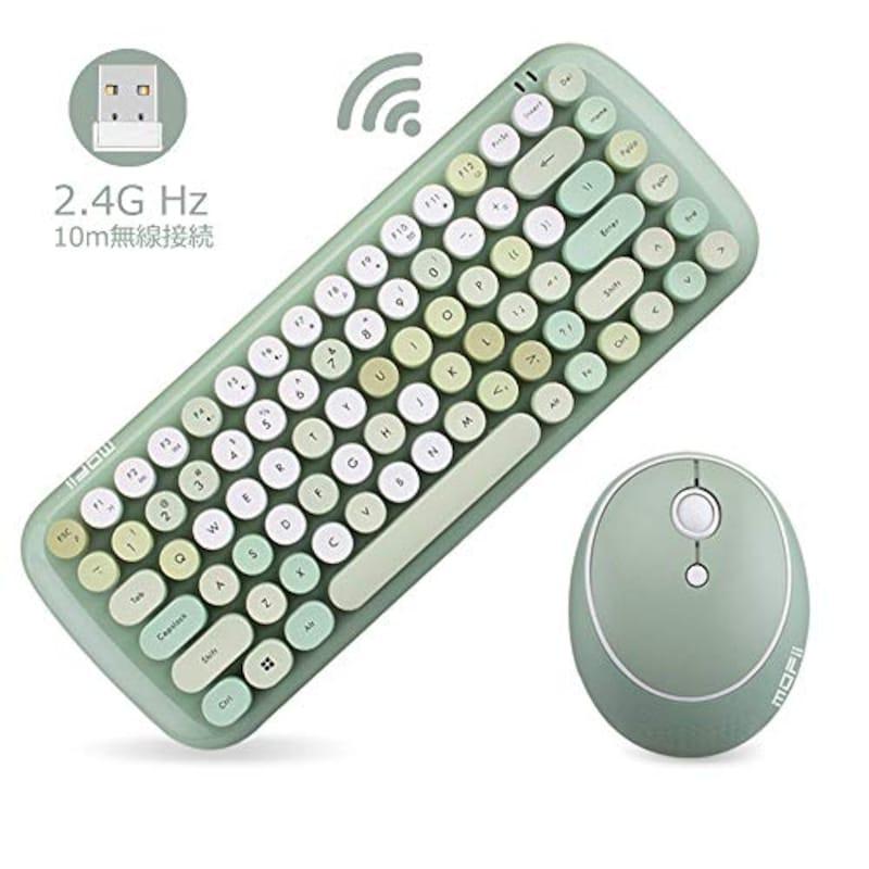 MOFii,ワイヤレスキーボード&マウスセット