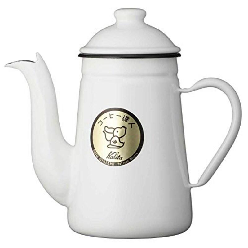 カリタ(Kalita),コーヒー達人 ペリカン(ホワイト),#52125