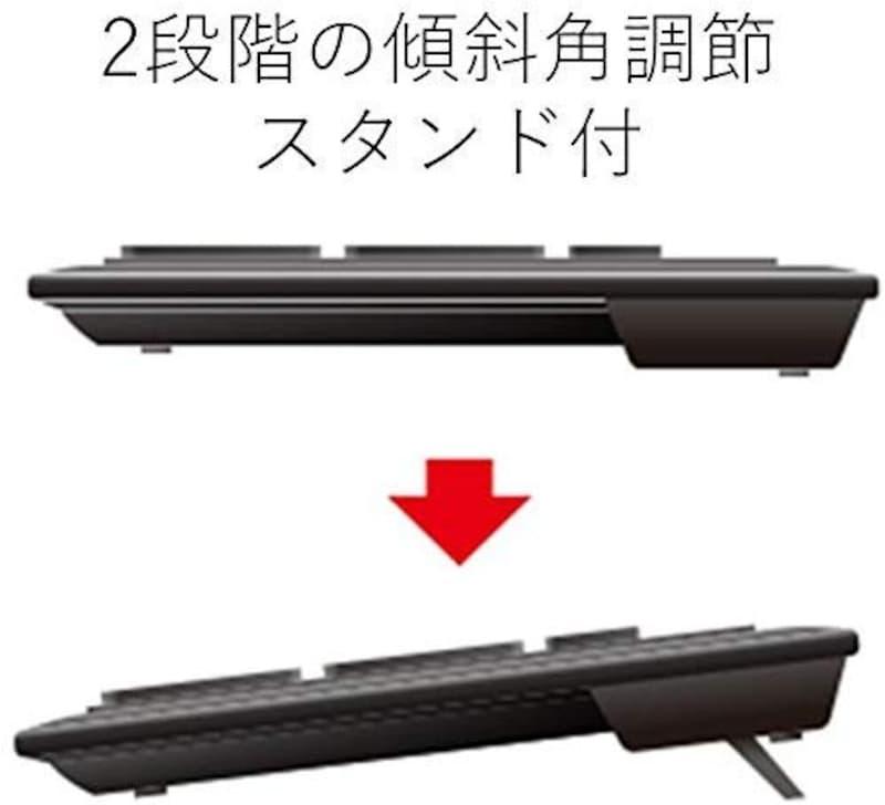 エレコム,ミニ有線キーボード,TK-FCM077PBK
