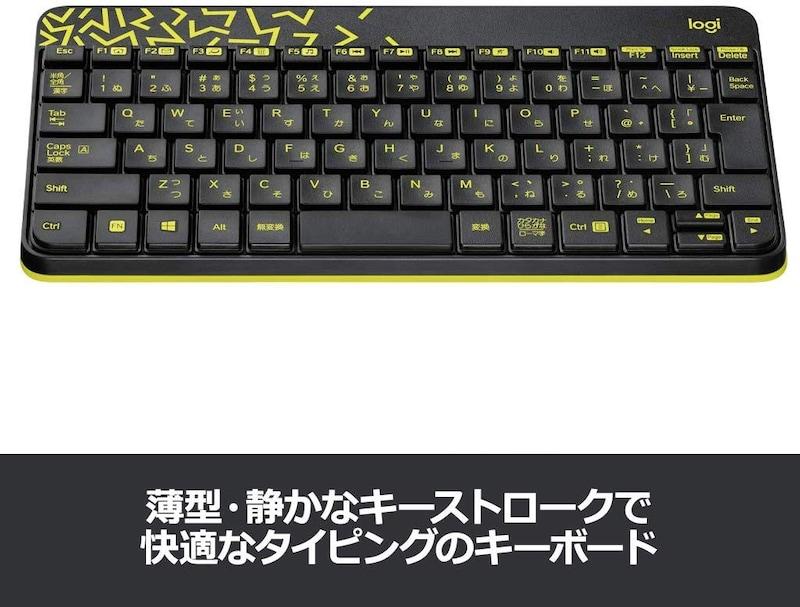 Logicool(ロジクール),ワイヤレスキーボード マウスセット,MK240nBC