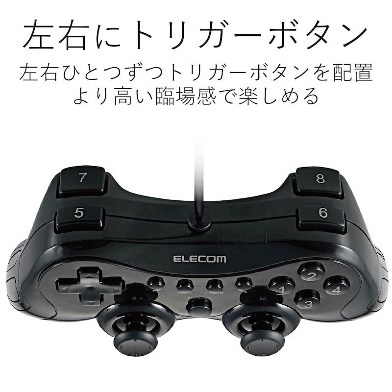 ELECOM(エレコム),ゲームパッド,JC-FU2912FBK