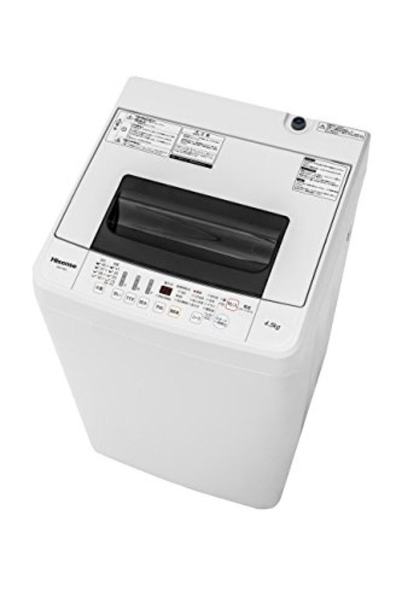 ハイセンス ,スリムボディー 全自動洗濯機,IAW-T1001