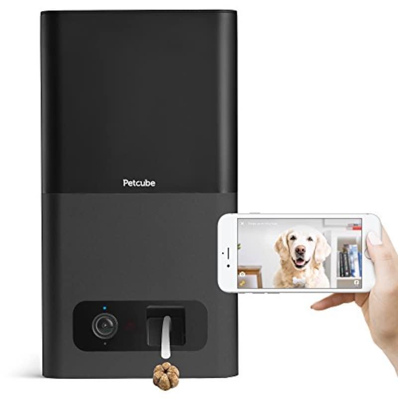 Petcube(ペットキューブ),Petcube Bites ペットと会話しおやつを与えられる見守りカメラ,PB913NVTD-CB