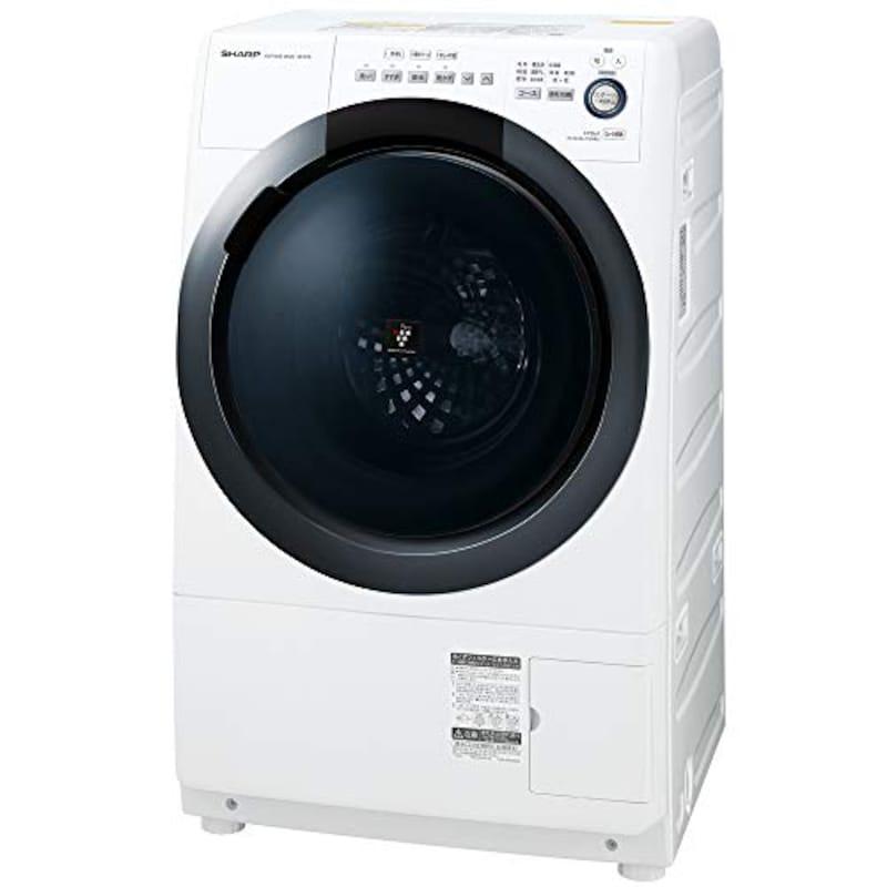 SHARP(シャープ),ドラム式 洗濯乾燥機,ES-S7D-WR
