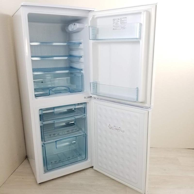 Abitelax(アビテラックス),アビテラックス ホワイトストライプ 2ドア冷蔵庫,AR-150E