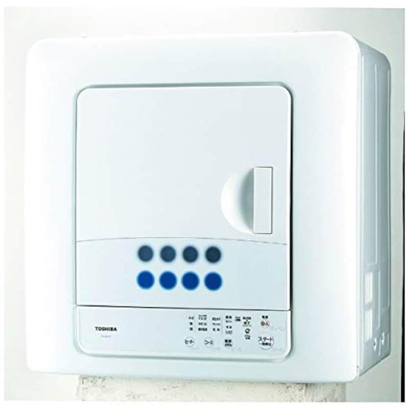 東芝,衣類乾燥機 ピュアホワイト,ED-608-W