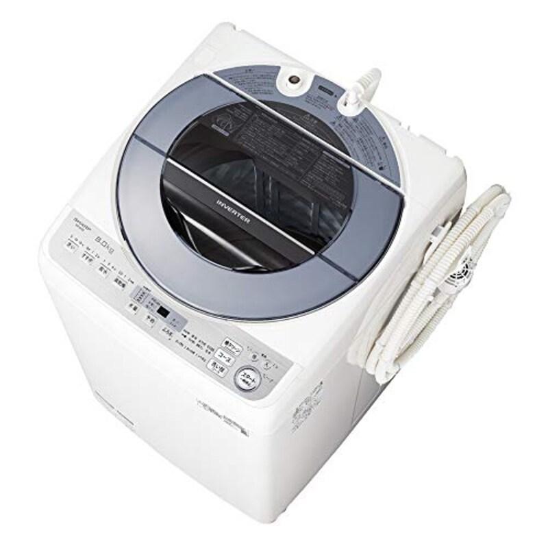 SHARP(シャープ),全自動洗濯機,ES-GV8D-S