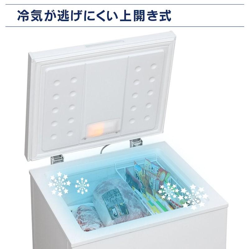 IRIS OHYAMA(アイリスオーヤマ),1ドア冷凍庫,PF-A100TD