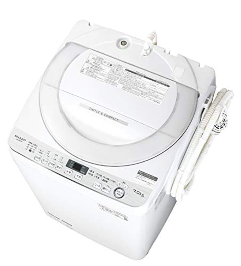 SHARP(シャープ),全自動洗濯機 ,ES-GE7D-W
