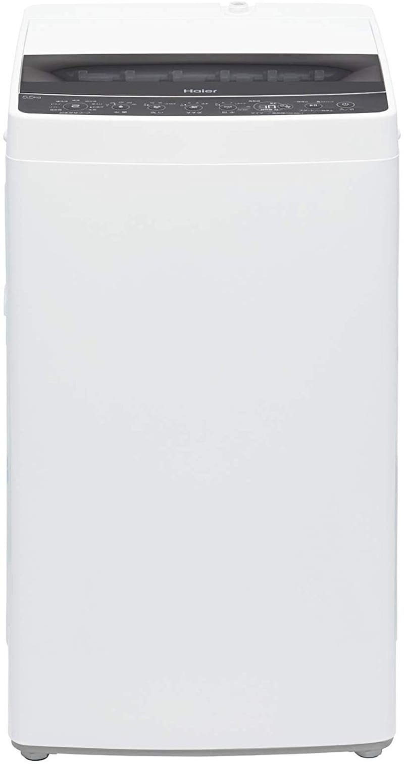 Haier(ハイアール), 5.5kg 全自動洗濯機 ブラック,JW-C55D-K
