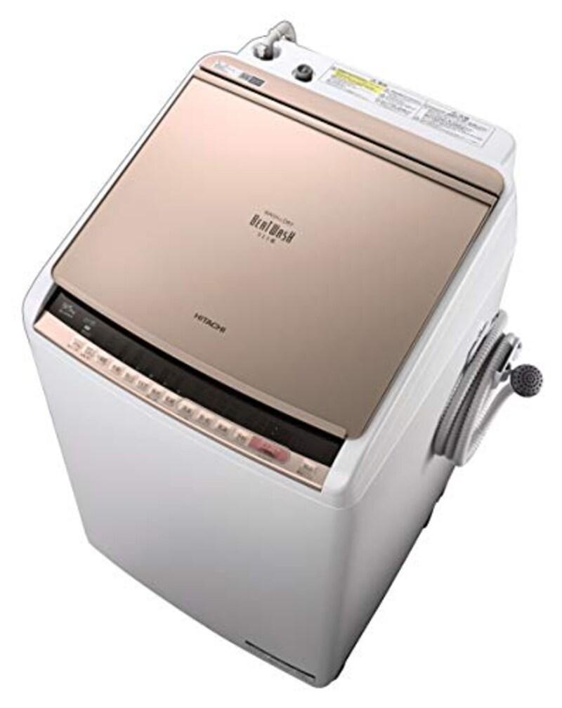 日立(HITACHI),ビートウォッシュ 全自動洗濯機,BW-V80E-N