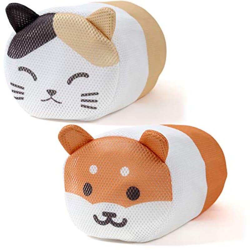 リマーク(Remark),ランドリーネット (三毛猫&柴犬)2個入