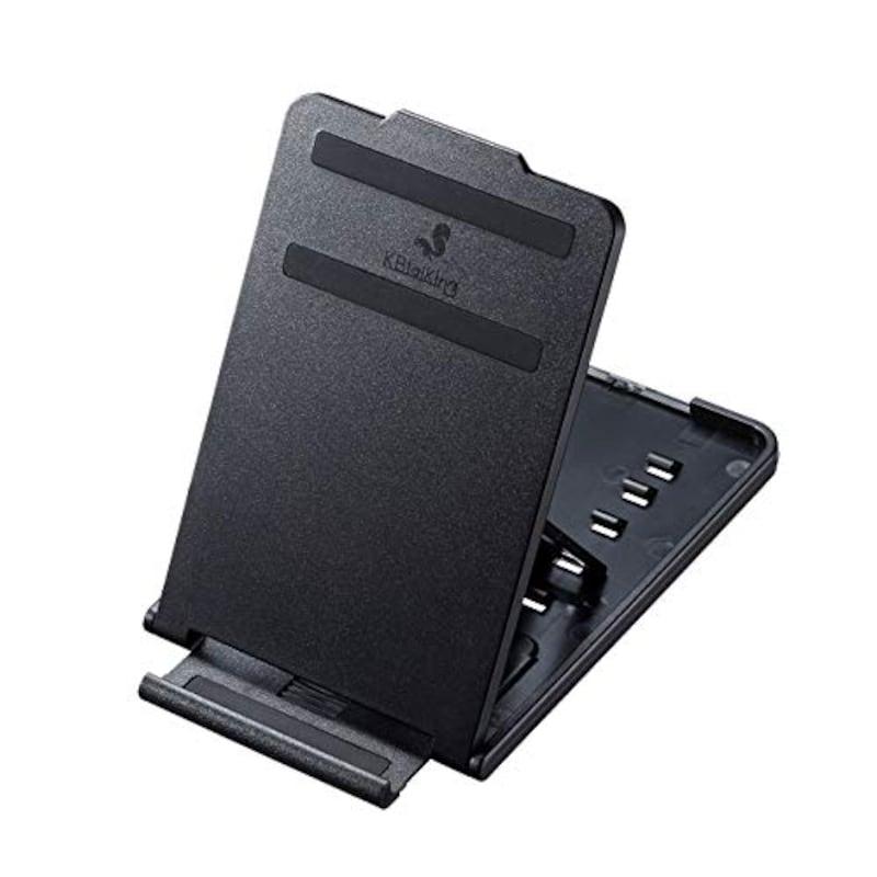 サンワサプライ,折り畳みスマートフォン・タブレットスタンド,PDA-STN33BK