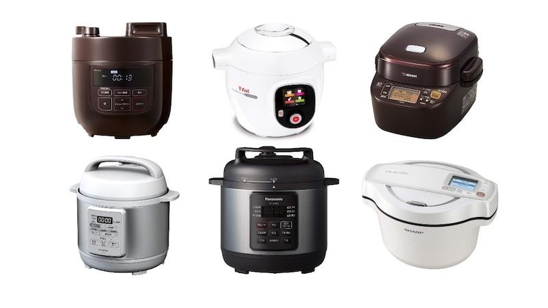 【最新比較】電気圧力鍋の人気ランキング12選|安い値段からおすすめ商品も紹介