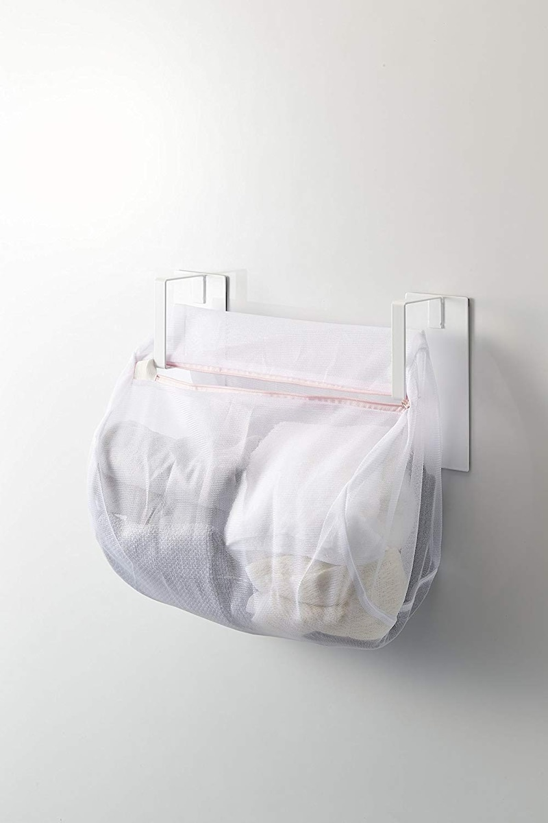 山崎実業,マグネット 洗濯機横 洗濯ネットハンガー