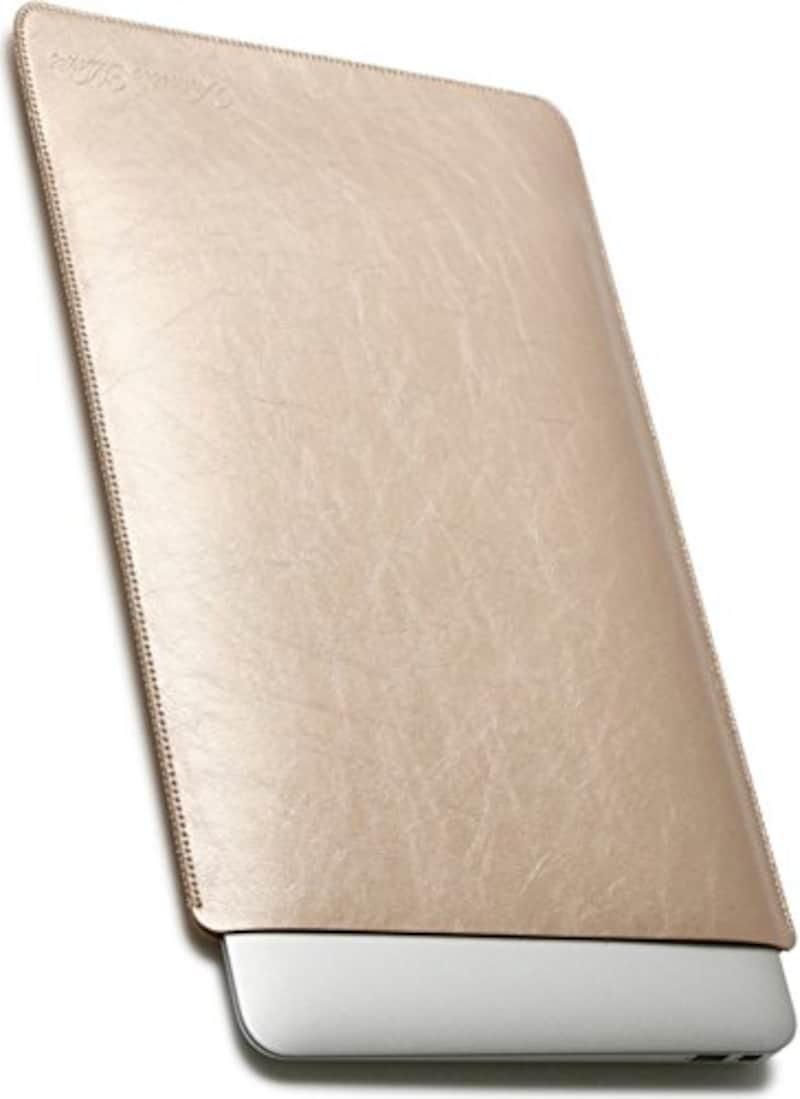 Valueble Mart,PUレザースリーブケース(ゴールド),VM-500