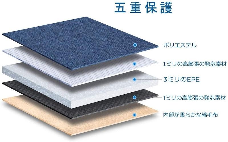 NIDOO ,Tablet Laptop Sleeve 8(ポーチ型)