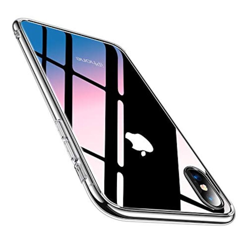 TORRAS,iPhone XS用ケース/iPhone X用ケース,TORRAS-CT-iPhone10-CL-JP