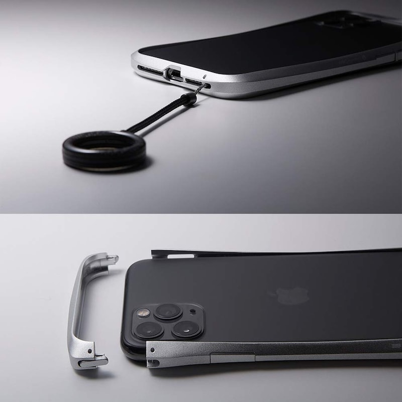 Deff(ディーフ),CLEAVE Aluminum Bumper for iPhone 11 Pro,DCS-IPC19SPURD