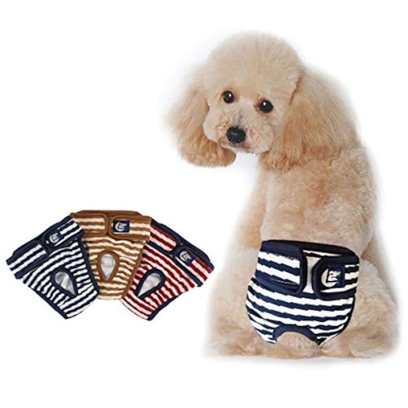 PETLESO,犬オムツ 犬用サニタリーパンツ 3枚