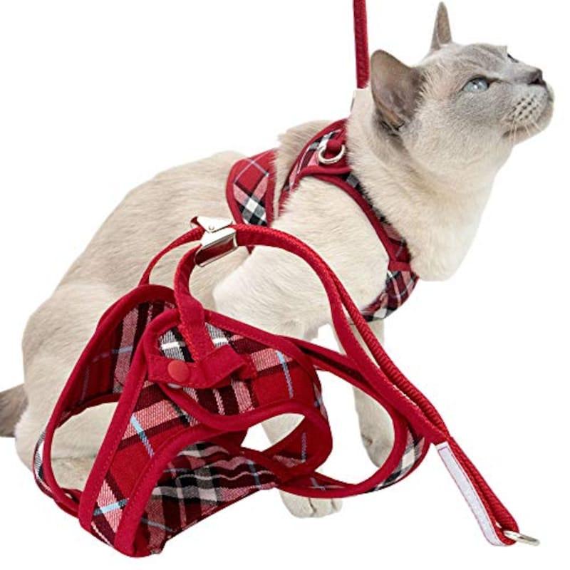 猫用品のゴロにゃん,猫用ハーネス ダブルブロックタイプ