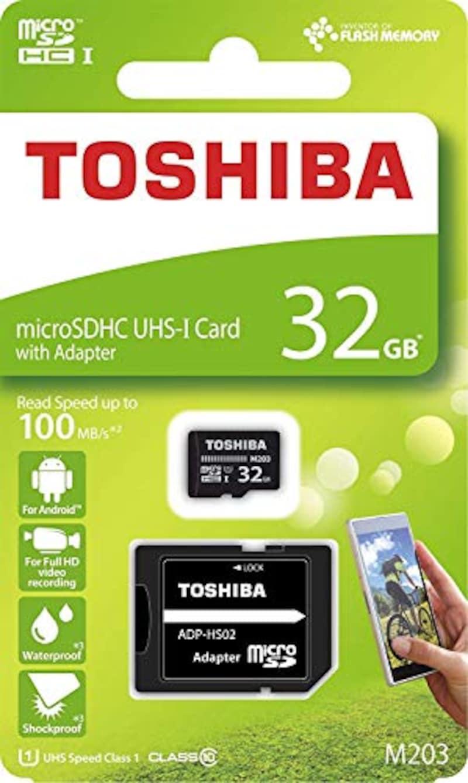 TOSHIBA(東芝),microSDHCカード 32GB,M203