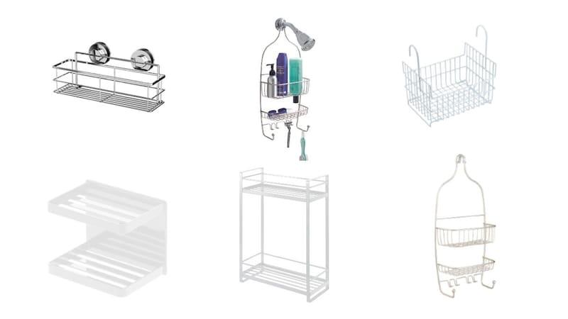 シャンプーラックおすすめ人気ランキング15選|お風呂場をよりおしゃれに!ステンレスやプラスチックなどの素材にも注目!