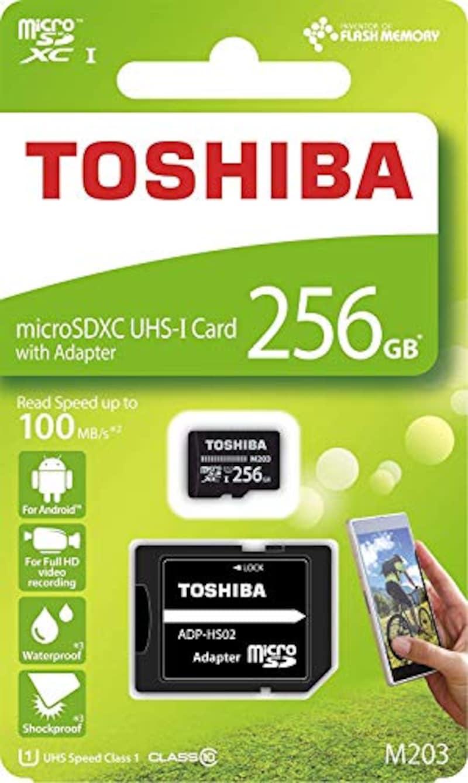 TOSHIBA(東芝),microSDXCカード 256GB,THN-M203K2560
