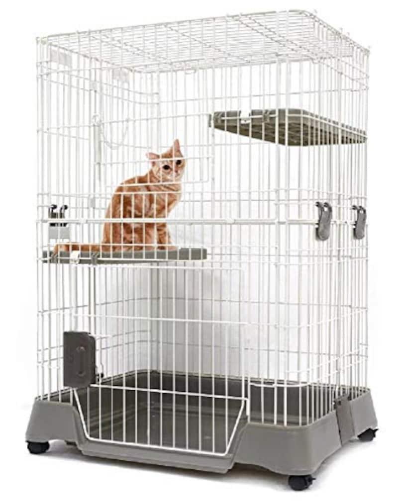 マルカン ,キティケージ 1000 グレー 猫用,CT-324