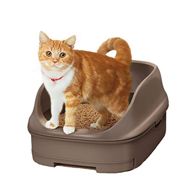 花王,ニャンとも清潔トイレセット オープンタイプ 猫用トイレ本体
