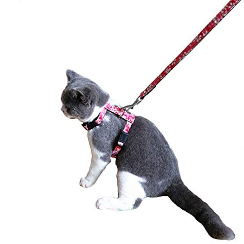 THAIN,猫用ハーネスリードセット