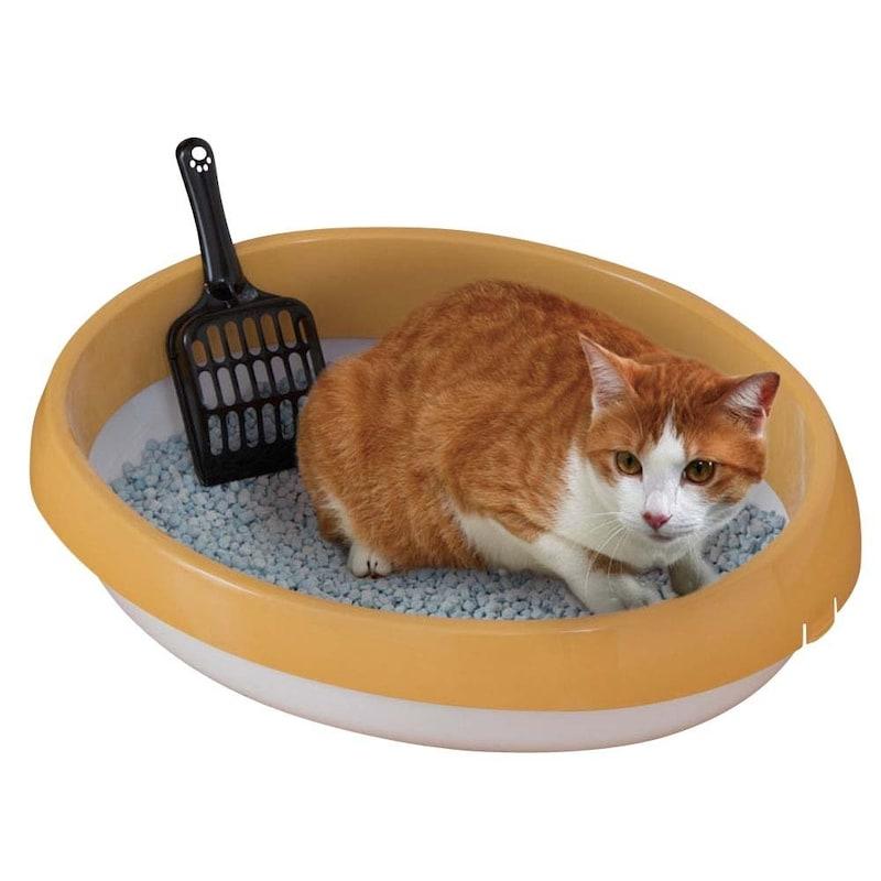 アイリスオーヤマ,ネコのトイレ 三毛 Mサイズ,P-NE480