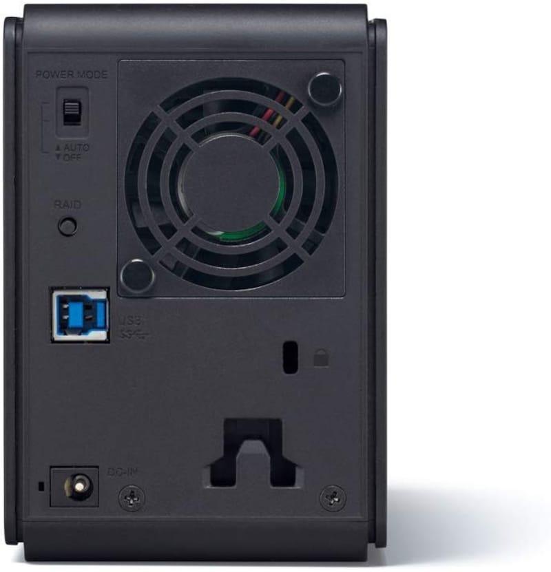 バッファロー(BUFFALO),RAID1対応 USB3.0用  外付けハードディスク 6TB,HD-WL6TU3/R1J