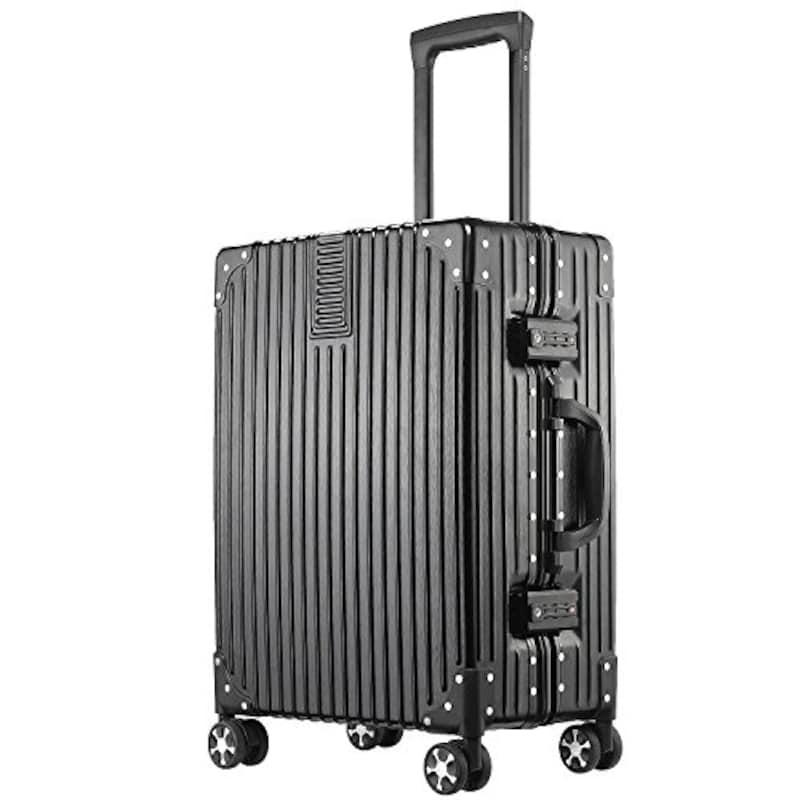 ASVOGUE(アスボーグ),スーツケース ブラック,242422