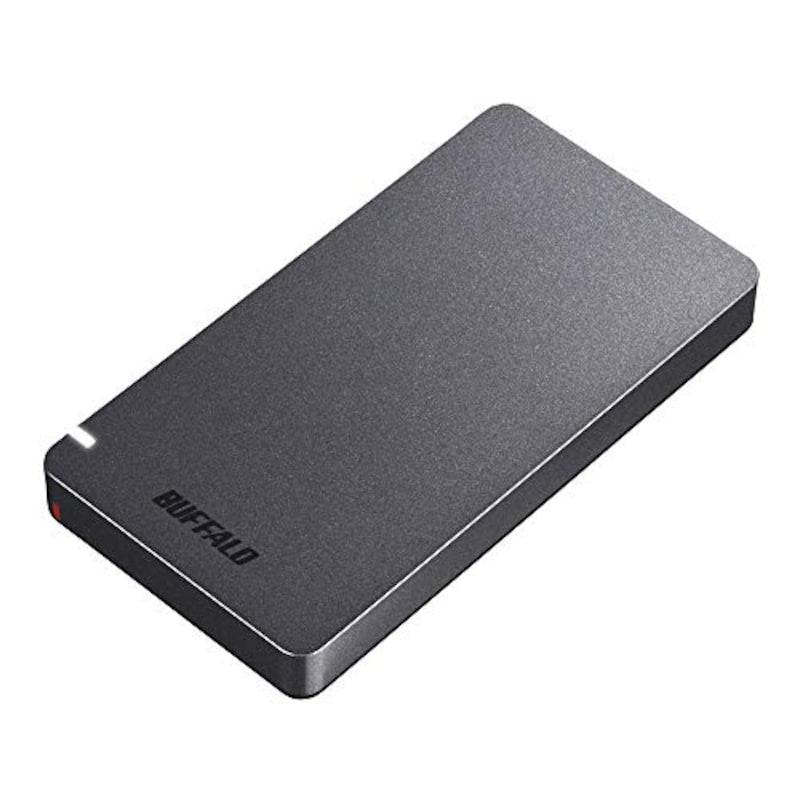 BUFFALO(バッファロー),外付SSD,SSD-PGM960U3-B/N