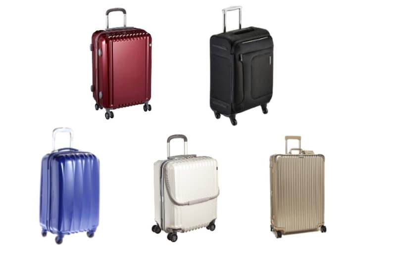 【2021】スーツケースのおすすめ21選|種類とサイズの選び方は?宿泊数別に商品紹介