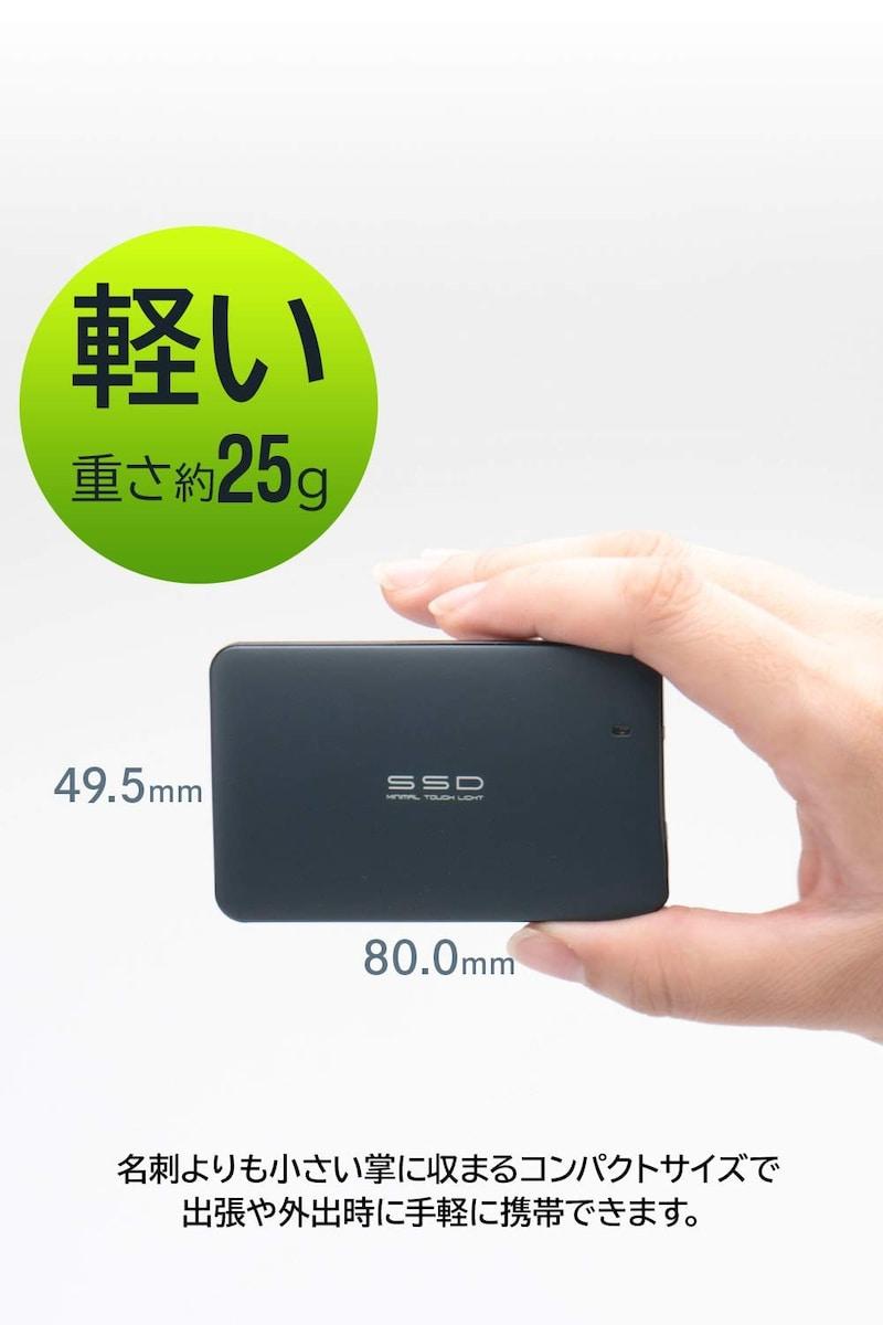 Logitec(ロジテック),外付けSSD ポータブル,LMD-SPA960U3