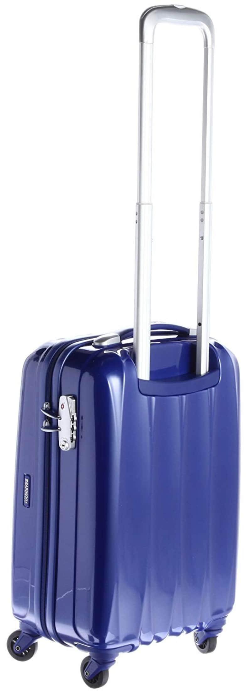 American Tourister(アメリカンツーリスター),キャリーケース アローナ スピナー55 ブルー,56531