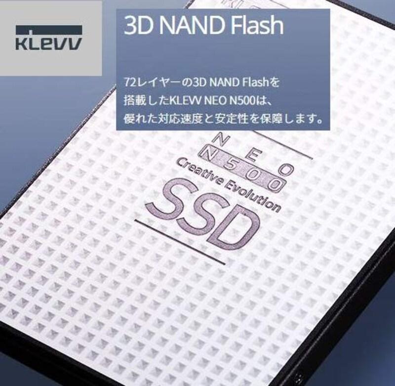 エッセンコアクレブ,KLEVV SSD,D120GAA-N500