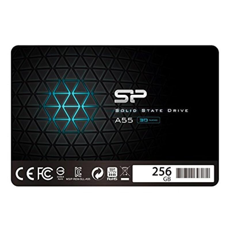 シリコンパワー,SSD,SP256GBSS3A55S25