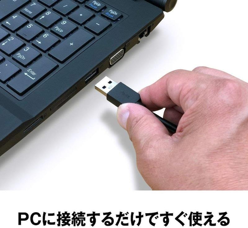 バッファロー(BAFFALO),ミニステーション ポータブルHDD 1TB,HD-PCFS1.0U3-BBA