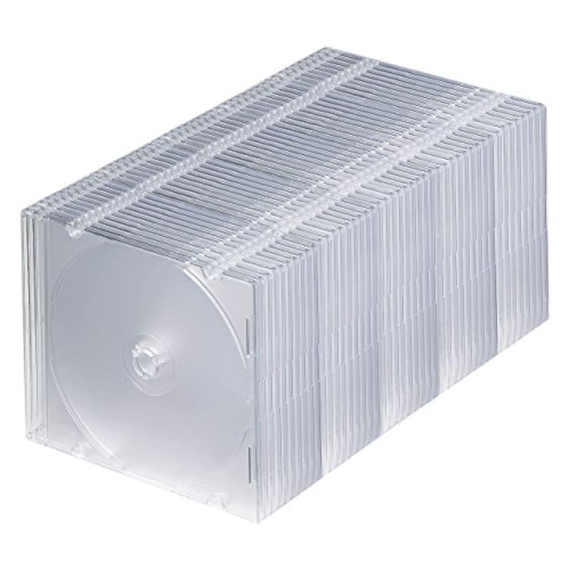 サンワサプライ,1枚収納×50枚セットケース,FCD-PU50C