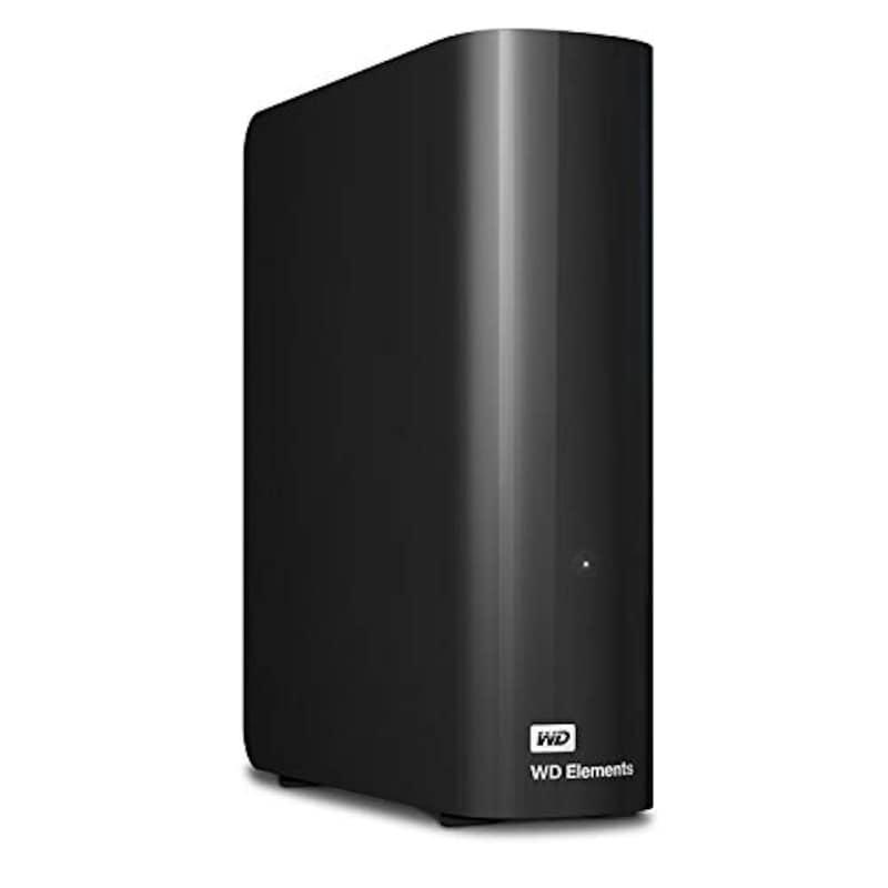 ウエスタンデジタル(WESTERNDIGITAL),外付けハードディスク Elements Desktop 4TB,WDBBKG0040HBK-JESN