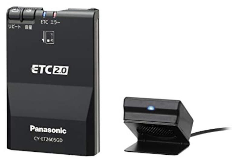 パナソニック(Panasonic),ETC車載器 ETC2.0(DSRC),CY-ET2605GD