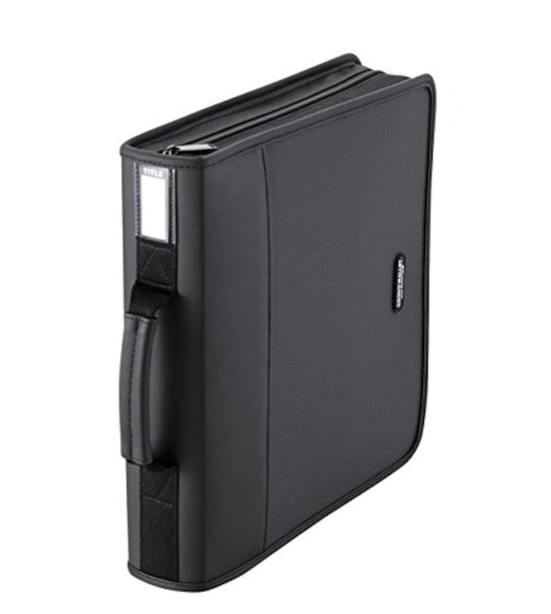 エレコム, CD/DVDケース/ファスナー付,CCD-SS160BK