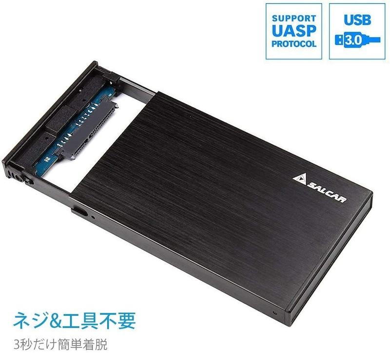 Salcar,2.5インチ HDD/SSDケース,603218