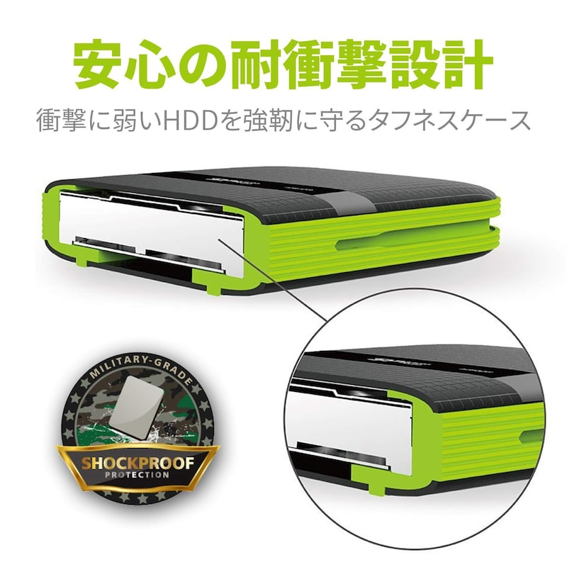 シリコンパワー,ポータブルHDD,SP040TBPHDA60S3K