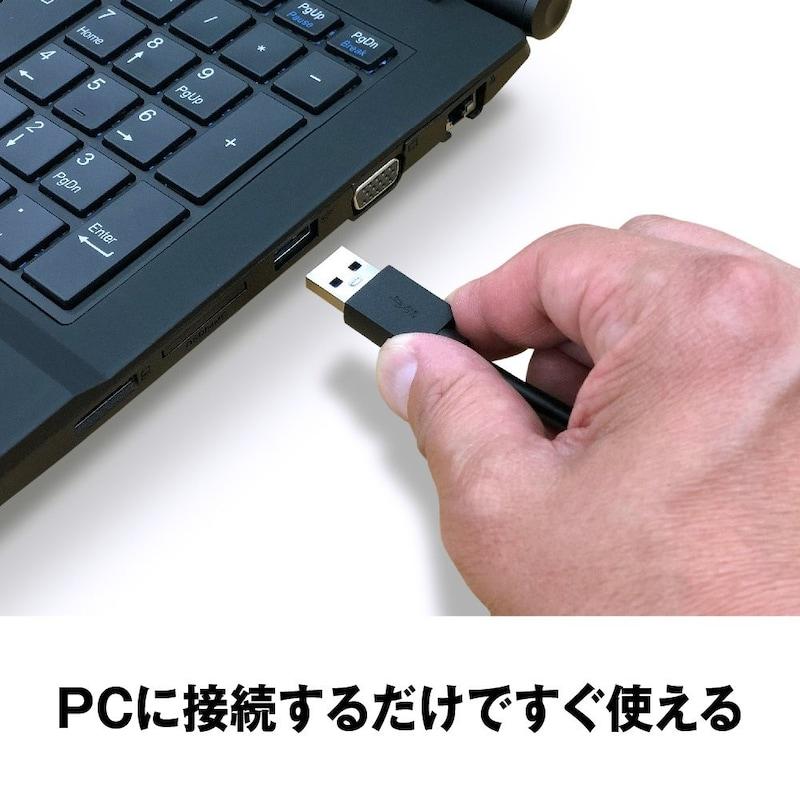 BUFFALO(バッファロー),ポータブルHDD,HD-PCFS2.0U3-BBA