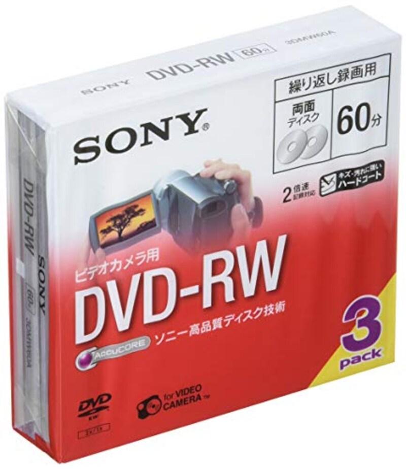 ソニー(SONY),ビデオカメラ用DVD-RW(8cm),3DMW60A