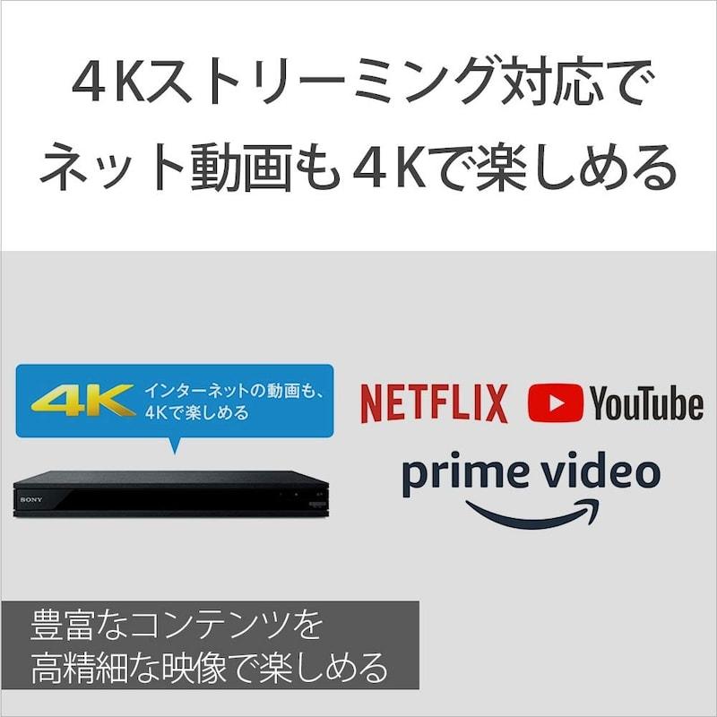 ソニー,ブルーレイプレーヤー/DVDプレーヤー,UBP-X800M2